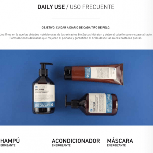INSIGHT Linea DAILY USE Uso Diario www.lacosmeticaprofesional.com
